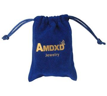 AMDXD Juwelier Vergoldete Herren Armband Feder Design Link Armbänder 20.3CM -