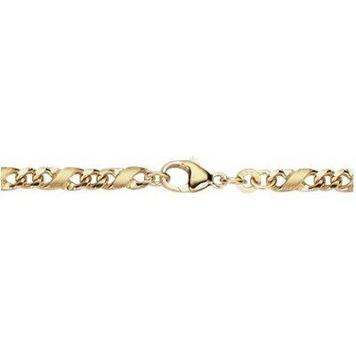 Armkette – Gold 585 14K – Dollarmuster – gold -