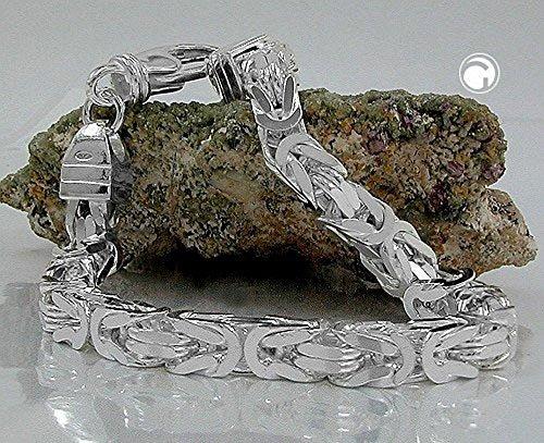 ASS 925 Silber Königskette Halskette Collier 5*5 mm, 55 cm -