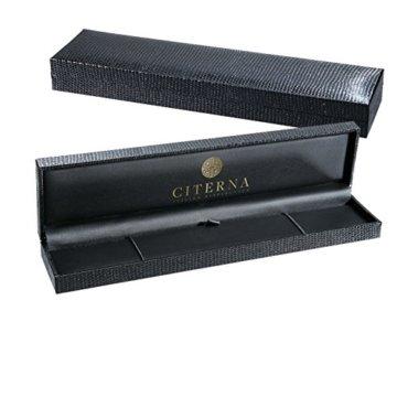 Citerna Herren-Gliederarmband 375 Gelbgold 22 cm  8.5″ -