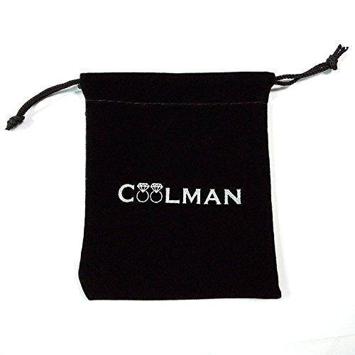 Coolman Schmuck Herren Armbänder Edelstahl-H-Link Armband 8,8 Inch -