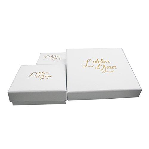 Figaroarmband alternée 1+ 3–echtes Gold Gelb -
