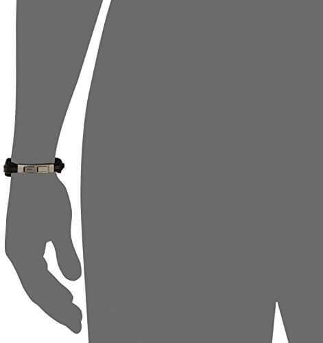 FOSSIL Armband JF86182040 Leder schwarz -