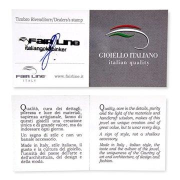 Gioiello Italiano Armband, Weiß- und Roségold, 14Karat -