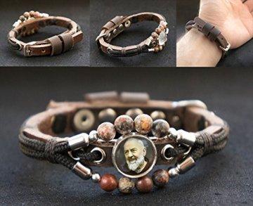 Jaspis-Edelstein-Armband (Frauen-Größe) -