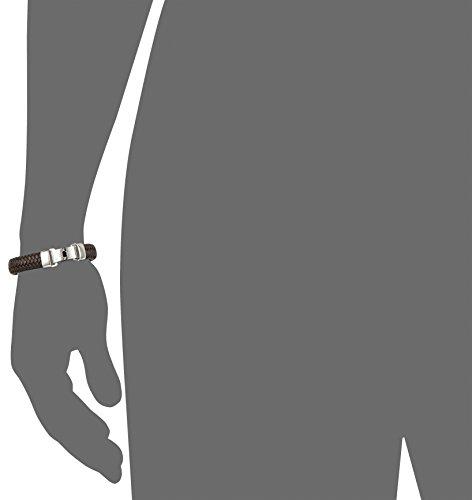 Joop Herren-Armband Edelstahl Leder 21.5 cm – JPBR10620B215 -