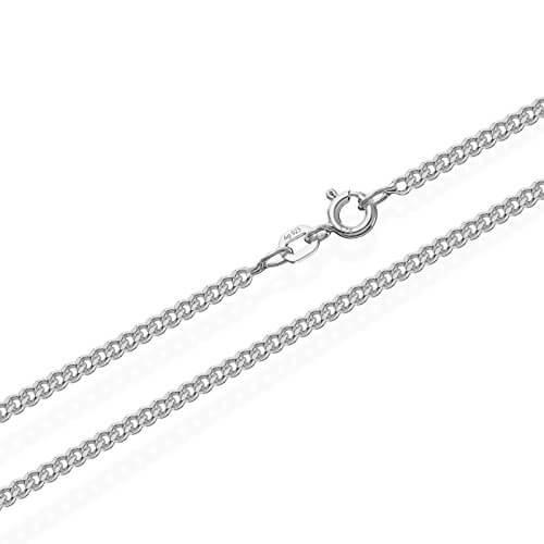 NKlaus 925 Sterling Silber Kette PANZERKETTE Königskette 2,10mm breit -
