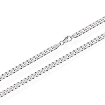 NKlaus 925 Sterling Silber Kette PANZERKETTE Königskette 2,70mm breit -