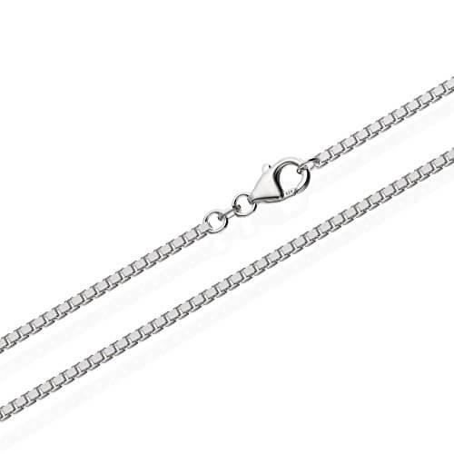NKlaus echte 925er Sterlingsilber Venezianerkette Silberkette 1,80mm breit -