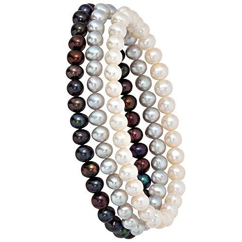 Perlen Armband mit Perle – China – Zuchtperle -