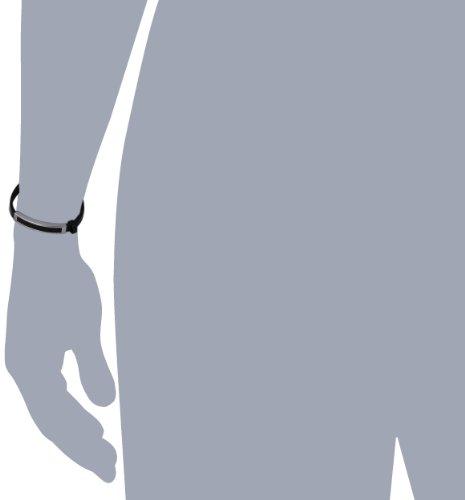 S. Oliver Herren-Armband Edelstahl Leder 4378 -