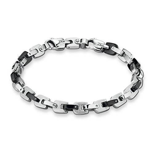 s.Oliver Herren-Armband Edelstahl 40005