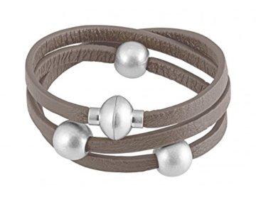 Sence Copenhagen Damen-Armband Leder One Size, braun -