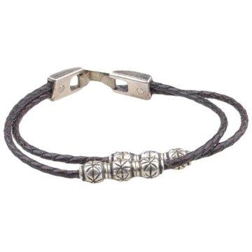 SENDRA BOOTS Leder-Armband Braun, Farbe:Brauntöne;Länge:20 cm -
