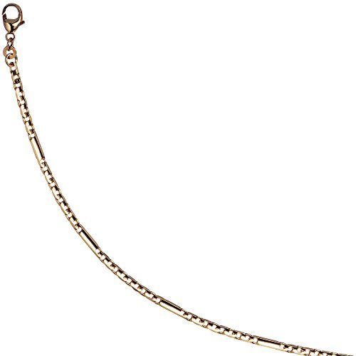 Steg – Panzerarmband 333 Gold Gelbgold 19 cm Armband Goldarmband Karabiner ( Gold Armschmuck ) -