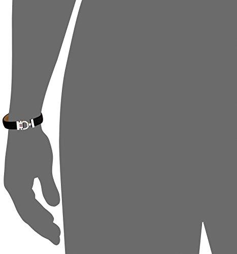 Tommy Hilfiger Herren-Armband Edelstahl Leder 22 cm-2700767 -