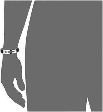 Tommy Hilfiger Herren-Armband Edelstahl Leder 22 cm-27008 -