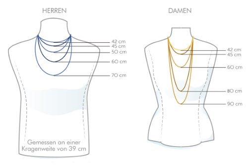 Unisex-Halskette Silber SCFSNB18 -