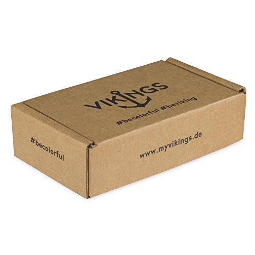 Vikings Anker-Armband Set für Sie & Ihn 2 Stück aus Nylon 6189 -